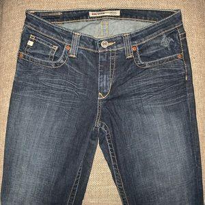 EUC Big Star Maddie Mid Rise Bootcut Jeans Size 30